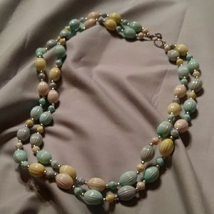 24 inch, beaded necklaces